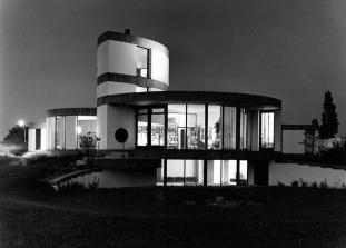 PSE, Wohhnaus Zindler, 1965-1966_nuit