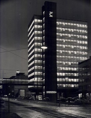 PSE_Kommerzbank, siège social, Düsseldorf, 1959-1962_1