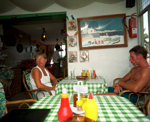 Martin Parr bored couple majorca spain